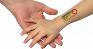 Προσωρινά tatoo για παιδιά με σοβαρές αλλεργίες!